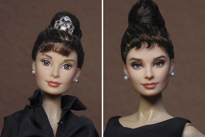 Artist Refurbishes Barbie And Other Dolls To Look Like Realistic Models Of Celebrities 60 Pics Buzzfeed